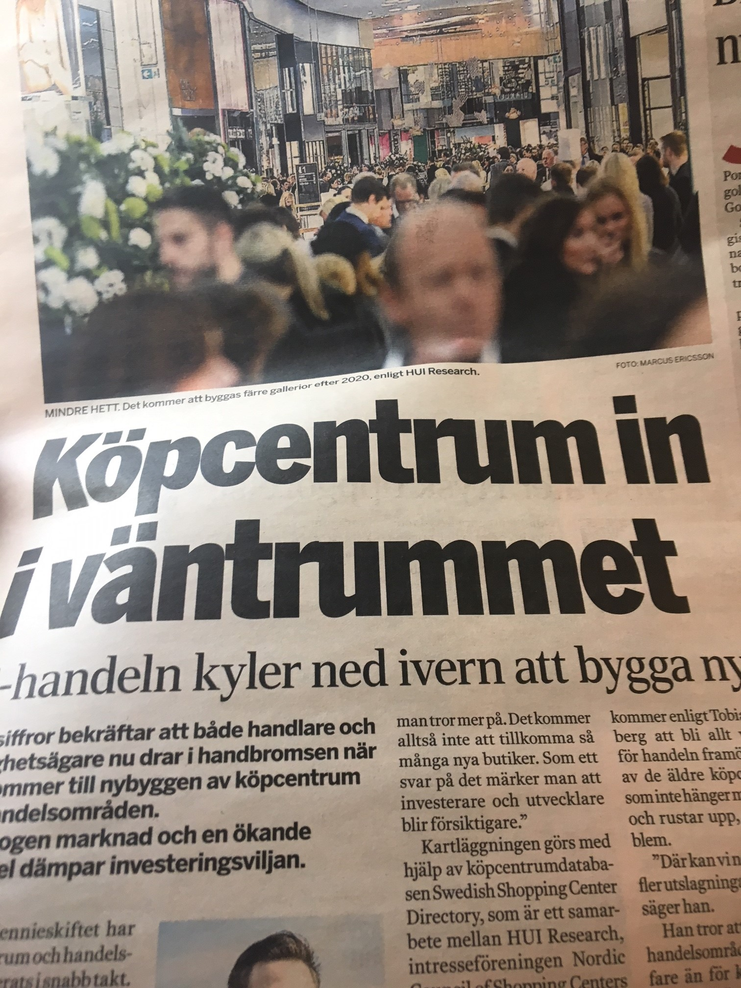 33a38219cd9 Så kom den slutligen, dagen då Di rapporterar att den enorma expansionen av  externhandelsytor i Sverige bromsar in. Vi har väntat länge, vi  olyckskorpar som ...